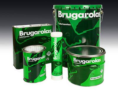 Tanks with paint Brugarolas logo