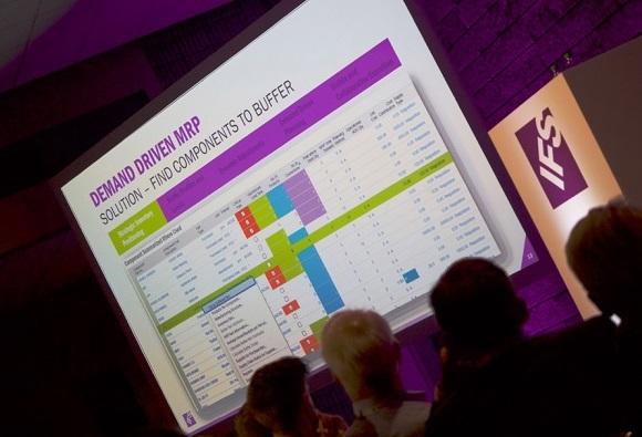 Фото интерфейса IFS Material Resources Planning