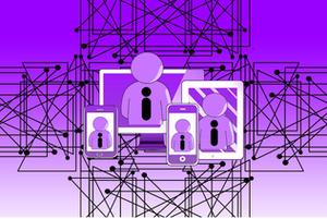 Изображение процессов и планшеты