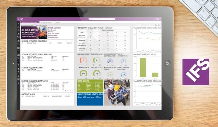 IFS Mobile: автоматизация работ выездных специалистов